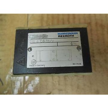 Rexroth Mannesmann Manifold Block Valve Z1S 6 D2-32/V Z1S6D232V origin