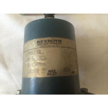 REXROTH P55122 RELAY VALVE MOD: 4S, 0-150, 250PSI