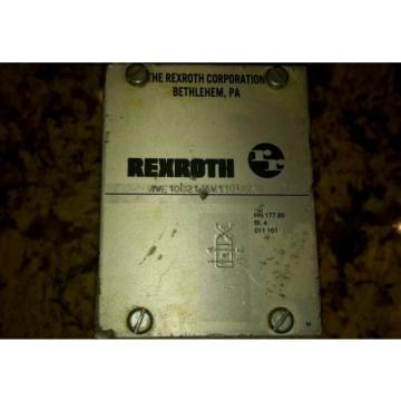 REXROTH 4WE10D21/AW110NDAV SOLENOID VALVE HYDRAULIC HYDRO NORMA $199