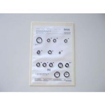 REXROTH Egypt USA R900722852 DAC/DBC/DRC/DZC.-5X SEAL KIT