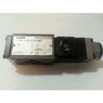 REXROTH HYDRAULIC VALVE Z4WE-6-E68-20/AG24N9K4 24VDC Z4WE-6-E68-20 AG24N9K4