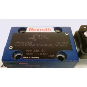 REXROTH 4WE 6 H73B62/EG24N9K72L/A12=AN, 4/2 DIRECTIONAL CONTROL VALVE #231540