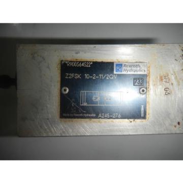 Rexroth Z2FSK-10-2-11-2QV D05 Hydraulic Dual Flow Control Valve