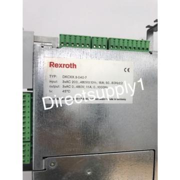 Rexroth Australia France EcoDrive DKCXX.3-040-7 Servo Drive Module DKC02.3-040-7-FW