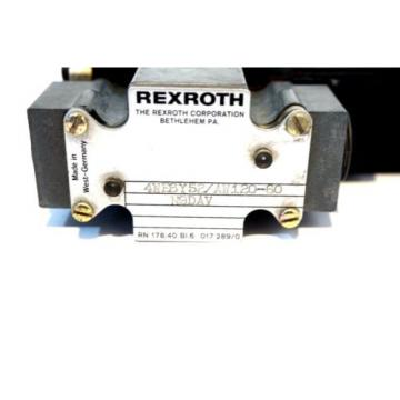 Origin REXROTH 4WE6Y52/AW120-60 VALVE 4WE6Y52AW12060