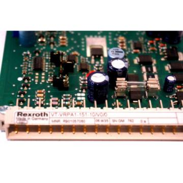 NEW Egypt Egypt BOSCH REXROTH VT-VRPA1-151-10/V0/0 AMPLIFIER BOARD VTVRPA115110V00