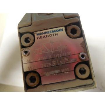 REXROTH SOLOIND VALVE M-3 SEW 6 U24/4720 L W110 RNZ55L/5  M3SEW6U244720 L