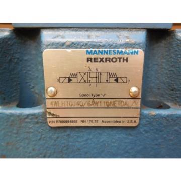 Rexroth Directional Valve 4WEH10J40/6AW110NETDAL/V 4WE6J52/AW110N DAL/N 120V