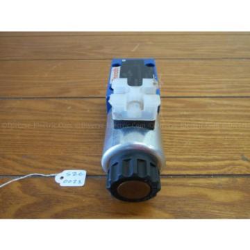 Bosch Rexroth R900738481 4WE6X7-62/EG24K4 Valve 350 Bar w/ R900221884 Solenoid