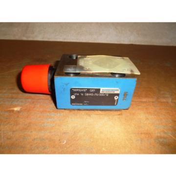 MANNESMANN REXROTH LFA 16 DBW2-70/200/12 HYDRAULIC VALVE, USED
