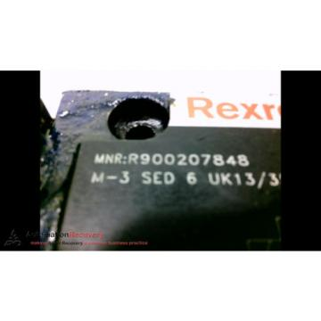 REXROTH France India R900207848 HYDRAULIC DIRECTIONAL CONTROL VALVE