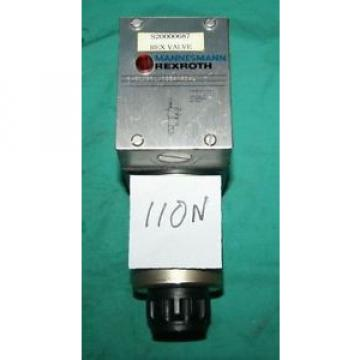 Rexroth 3WE-10-B31 CG24N9DAL directional spool valve