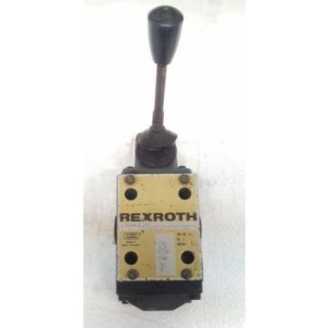 4WMM10J11/F REXROTH R900587836 Directional Spool Valves,direct operated  manual