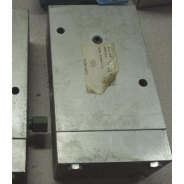 Racine Bosch Rexroth 1-1/4#034; check valve, 70 GPM 3000 psi, model FB1-P0HT-112R-21