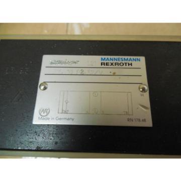 Rexroth Mannesmann Manifold Solenoid Block Valve Z1S 10 P2-32/V origin