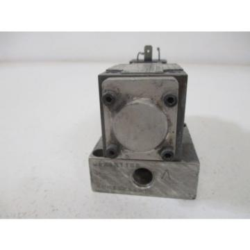 REXROTH 4WE6C51/AW120-60NZ45V SOLENOID VALVE USED