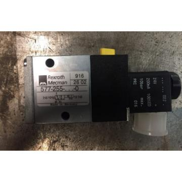 Rexroth 577 255 3/2-directional valve, Series CD04 solenoid 24VDC coil