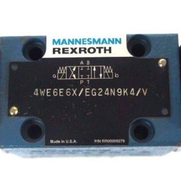 Origin MANNESMANN REXROTH 4WE6E6X/EG24N9K4/V CONTROL VALVE RR00009279
