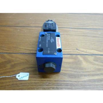 Bosch Rexroth R900738483 4WE 6 D62/EG24K4 SO293 Valve w/ R900221884 Solenoid 24V
