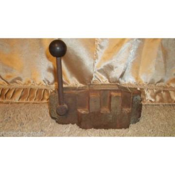 REXROTH Mexico Japan VALVE Made in Germany Vintage Tool Weighs Almost 19 pounds Barn Find