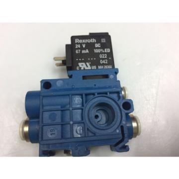 5794470220 AVENTICS Rexroth Pneumatic Valve  V579-3/2NC-DA06-024DC-04-EV4-EXT