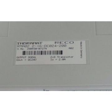 NEW Germany Dutch REXROTH INDRAMAT RMA02.2-16DC024-200 OUTPUT MODULE 24VDC, 2AMP