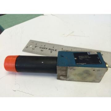 Origin REXROTH HYDRAULIC ZDR6DA2-43/75Y   RR00410813    00003844 VALVE   GB