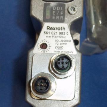 REXROTH Egypt Australia 12 BAR PNEUMATIC CONTROL VALVE, 561-021-983-0
