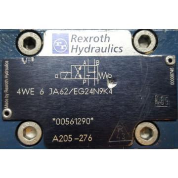 Rexroth 4WEH16HA71/6EG24N9ETK4 with 4WE6JA62/EG24N9K4  Directional Valve