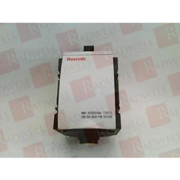 BOSCH Mexico Dutch REXROTH R432002888 RQANS1