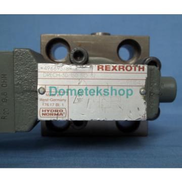 Hydronorma Rexroth DRECH-30/150 SO 82 496695/8 Hydraulic Valve