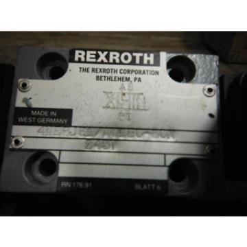 REXROTH Canada Canada VALVE 4WE6J51/AW120-60N ~ USED