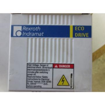 REXROTH Russia Singapore / INDRAMAT DXCXX3-100-7 ECO DRIVE SERVO DRIVE - USED - DKC06.3-100-7-FW