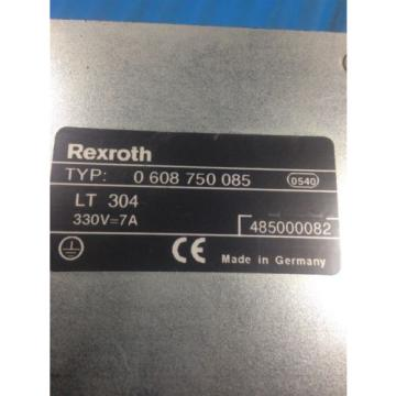 USED Australia Germany REXROTH 0 608 750 085 POWER SUPPLY MODULE LT304 (C27/C32)