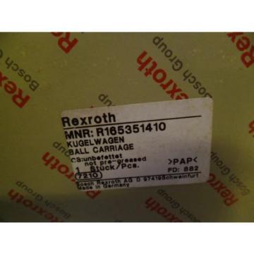 REXROTH R165351410 LINEAR BEARING Origin IN BOX