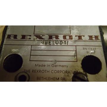 Rexroth 4WE10D4 Directional Control Valve _ 4WE1OD4