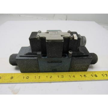 Mannesmann Rexroth 4WE6D61/EW110N Double Solenoid Operated Directional Valve