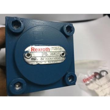 3710301000 REXROTH Pneumatic Directional Control Valve Sub-base