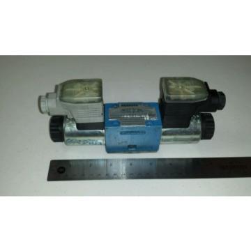 Rexroth 4WE6E60/EG24N9Z 55LV Directional Control Valve RR00880060 Spool Type E