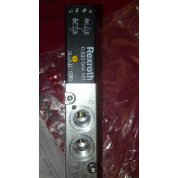Rexroth India Italy 0 820 044 101  0820044101  DIRECTION CONTROL VALVE