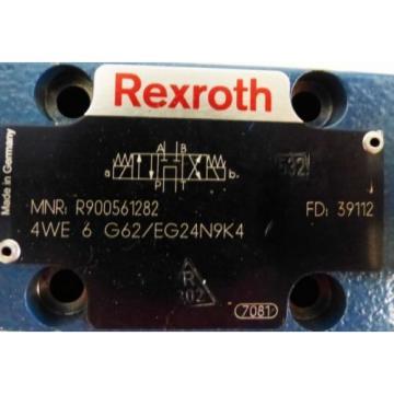 Rexroth 4WE 6 G62/EG24N9K4 4WE6G62/EG24N9K4 R900561282 Valve -used-