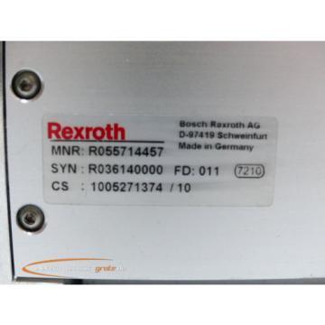 Rexroth China Egypt MNR: R055714457 FD: 011 Linearantrieb, Verfahrensweg 630 mm