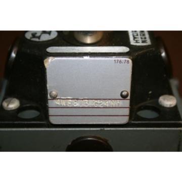 Directional valve Hydraulic 4WE8J3 24 VDC High power Solenoid Rexroth Unused