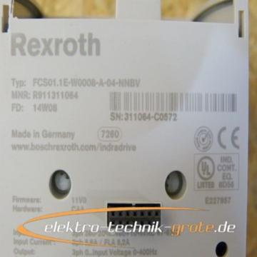 Rexroth Dutch Dutch FCS01.1E-W0008-A-04-NNBV Frequenzumrichter - ungebraucht !!