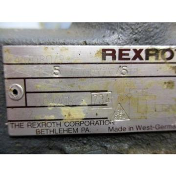REXROTH DR10/542/100Y/V/5 PILOT OPERATED PRESSURE REDUCING VALVE