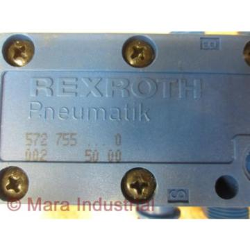 Rexroth 752 755000 Pneumatic Valve - origin No Box