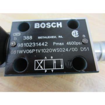 Rexroth Bosch Group 9810231442 Valve - Used