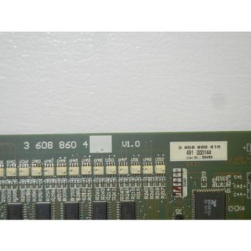 REXROTH Mexico Germany 3 608 860 416 USED BOARD FOR PE 110 ANALOG CONTROLLER 3608860416
