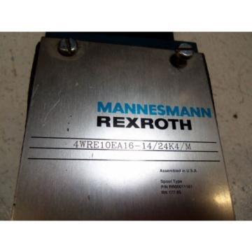 REXROTH Canada Australia 4WRE10EA16-14/24K4/M DIRECTIONAL VALVE *USED*