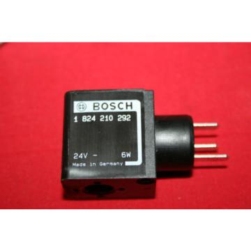 NEW Australia Greece Bosch Rexroth Solenoid Valve Coil 24VDC - 1 824 210 292 - 1824210292 - BNIB
